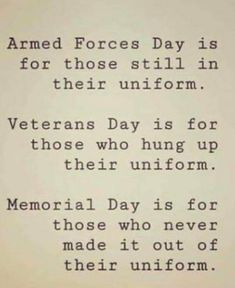 Holiday Wishes, Veterans Day, Armed Forces, Thought Provoking, Memorial Day, Memories, Thoughts, Military, Birthdays