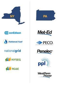 NY PA Utility Companies