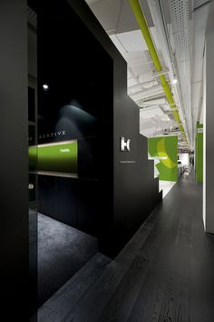 Branding :: Helius Creative Office, Fleet & Promo by Rod Burkholz, via Behance - black white and green