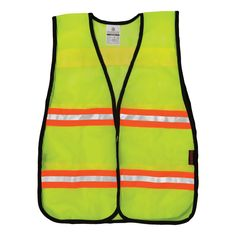 ML Kishigo NL-A2 N-Series Two-Tone Mesh Safety Vest - Yellow/Lime | FullSource.com