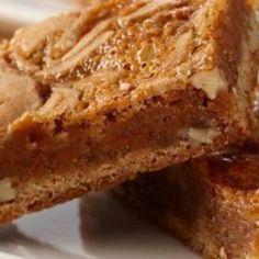 CARAMEL CINNAMON SWIRL BARS Recipe   Just A Pinch Recipes
