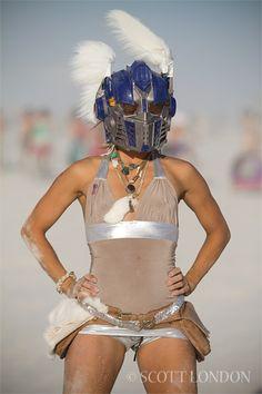 Burning Man 2010 - Megan - Photo by Scott London