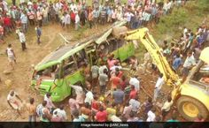 16 Killed, 30 Injured In Bus Accident In Odisha