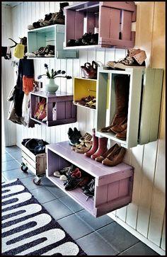 ayakkabılık, tahta kasa, shoe rack