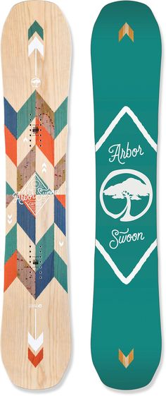 Arbor Female Swoon Camber Snowboard - Women's /2016
