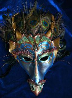 "River Dragon Mask ""Mystique"""