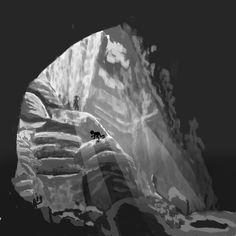 He in the Cave by UmLapisAzul