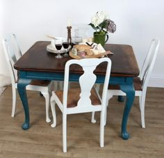 Monty And Friends Upcycled Dining Set