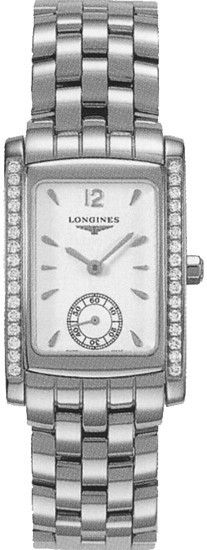 Longines Watch DolceVita Ladies #bezel-diamond #bracelet-strap-steel #brand-longines #buckle-type-deployment #case-depth-8mm #case-material-steel #case-width-22-4-x-26-85mm #delivery-timescale-1-2-weeks #dial-colour-white #gender-ladies #luxury #movement-quartz-battery #official-stockist-for-longines-watches #packaging-longines-watch-packaging #sku-lng-155 #subcat-dolcevita #supplier-model-no-l5-502-0-16-6 #warranty-longines-official-2-year-guarantee #water-resistant-30m
