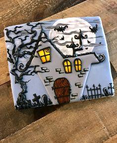 Haunted house cookie, Halloween cookies