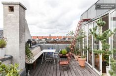 Heimdalsgade 14, 5., 2200 København N - 130 kvm Penthouse med egen tagterrasse og udekøkken på 20 kvm.