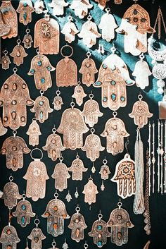 Hamsa gallery wall