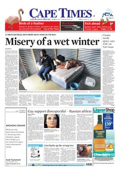 News making headlines: Misery of a wet winter