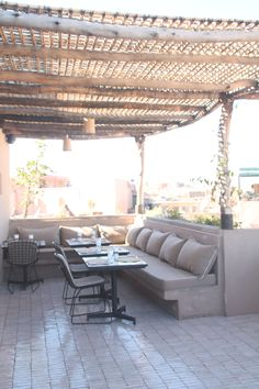 nomad terrace. marrakech. restaurant