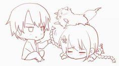 Awww cute Ryosaku