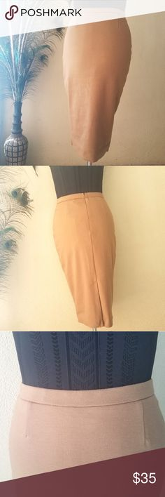 d478fc6a0a G by Giuliana Camel Color Pencil Skirt G by Giuliana Camel Color Pencil  Skirt. Size