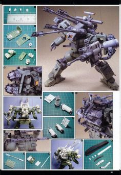 HG 1/144 Tieren Antiaircraft Cannon Type Custom Build - Gundam Kits Collection News and Reviews