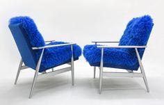 "Fotel Futrzak ""Zorza Polarna"" http://polish-design.co.uk/portfolio/fotel-futrzak-zorza-polarna/"
