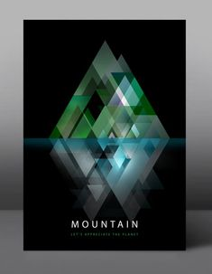 Mountain - Let's appreciate the planet - #Graphic #Poster Series by jDstyle