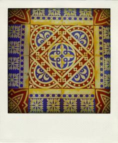 Tiles- St. Giles Cheadle, 'Pugin's Gem.'