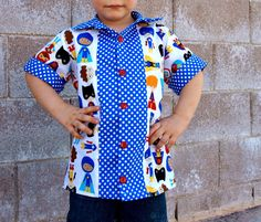 CraftingCon Sew Along: Avengers Month- Bowling Shirt by Scientific Seamstress