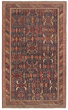 his extremely early 160-year-old Afshar tribal rug offers a unique, mesmerizing all-over design of archetypal symbolic devices and an extremely mature palette of colors. This collectible Persian rug reveals its significant age through infinite spontaneity, extraordinary fineness of weave and enigmatic, deconstructed bird, blossom and cruciform motifs.