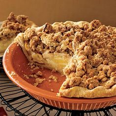 Thanksgiving recipes: Sour Cream Apple Pie. No matter how full everyone is from dinner, they won't be able to resist this crumble-topped apple-filled treat.