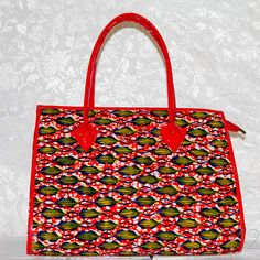 Funky Flavor work bag by whatisyourACCENT on Etsy, $59.99