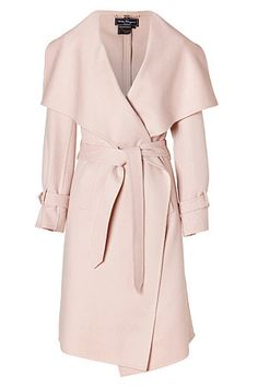 gorgeous blush pink coat http://rstyle.me/~2udfm | Stitch Want ...