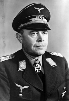 Luftwaffe Field Marshal Albert ( Smiling Al) Kesselring a better land warfare man than operations Air Marshal , but he too provided Werhmact ground Forces all he could in times of crisis, a great Field Marshal in  Ground and Air operations