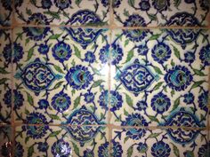 The tiles from Leighton house