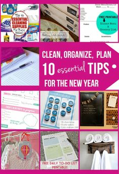 10 organizing Tips for the New Year