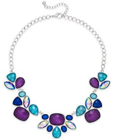 Blue & purple Style& Co. necklace. mine is all blue