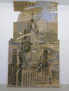 Moscow, Foreign Ministry MID by Valery Koshlyakov Ap Studio Art, Building Art, A Level Art, Sense Of Place, Architectural Features, Gcse Art, Built Environment, Environmental Art, Urban Landscape