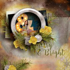 Made with the mini kit Merry & Bright by DitaB for the use it all challenge at PBP here http://www.pickleberrypop.com/shop/product.php?productid=46935  Photo by Janet Kamskay used with her kind permission. Find her beautiful work on FB