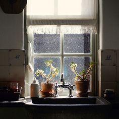 Via Tumblr -- View through a window #window