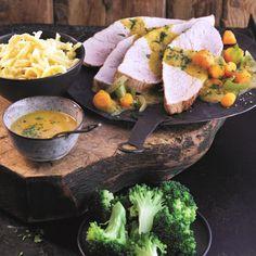 Gebraden varkensvlees voor een telvrije dag #WeightWatchers #WWrecept #telvrij
