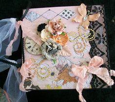 Prima Rondelle Collection Mini-Album - Scrapbook.com