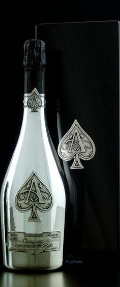 Ardenne Champagne ~ Armand De Brignac Brut Source: Luxury Style Mag.