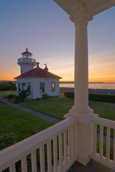 Mukilteo Lighthouse ~ WA State