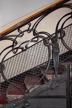 Budapest Art Nouveau by elinor04 mostly off, via Flickr