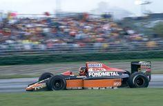 F1 Olivier Grouillard (FRA) (Fondmental), Fondmental FA1M-E - Ford-Cosworth DFR 3.5 V8-1991