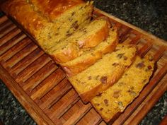 Spicy Pumpkin Bread with Dates, Nuts & Raisins