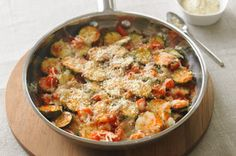Skillet Parmesan Zucchini Recipe - Kraft Recipes