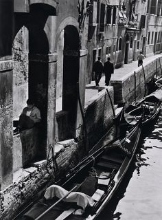 André Kertész, Venise, 1963