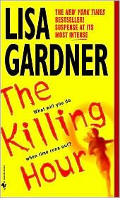 The Killing Hour by Lisa Gardner.  This book is set during a very hot summer and I read in while trying to survive a very hot summer a few years back.  Looking at her pic it is hard to believe she writes such thrillers.