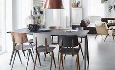 Een Industrieel thuisDe Galvanitas S16 stoel is déindustriële eetkamerstoel met vintage uitstraling, ideaal voor mensen die opzoek zijn naar een industriële uitstraling in huis. De S16 stoel is perfect te combineren met zijn grote broer, de stoere TD4 eet- of vergadertafel. Het ijzersterke, robuuste frame van gebogen plaatstaal kan tegen een stootje en is erg geschikt voor een thuissituatie.