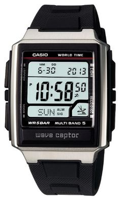 Men's Wrist Watches - CASIO watch WAVE CEPTOR Waveceptor radio clock MULTIBAND 5 WV59J1AJF mens watch >>> Click image to review more details.