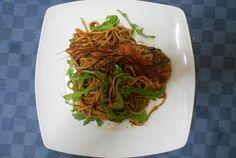 Spaghetti gamberi e rucola  #pasta #spaghetti   #cucinaitaliana #italianfood