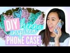 DIY Henna Inspired Phone Case | TutorialsByA - YouTube